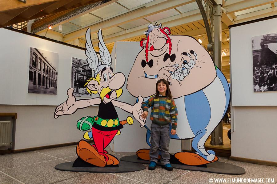 Bruselas - Museo del Cómic