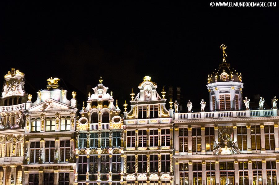 Que ver en Bruselas en dos días - La Grand Place