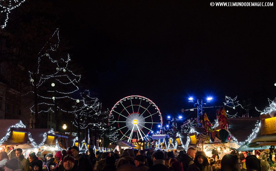 Que ver en Bruselas en dos días - Mercadillo Santa Catherina