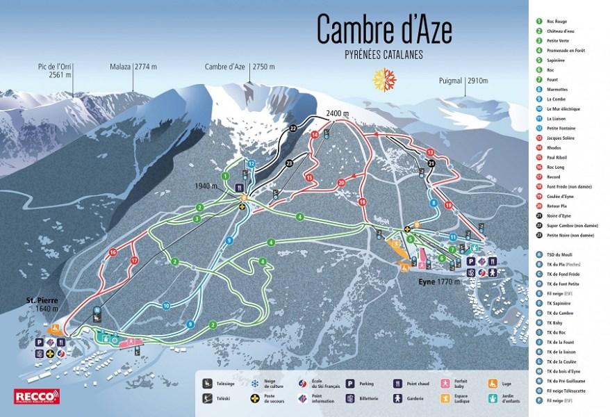 Esquiar con niños en La Cerdanya - Cambre D'aze