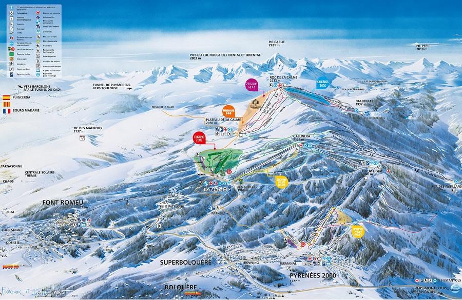 Esquiar con niños en La Cerdanya - Font Romeu