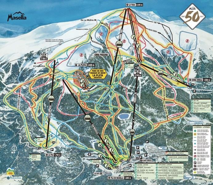 Esquiar con niños en La Cerdanya - La Masella