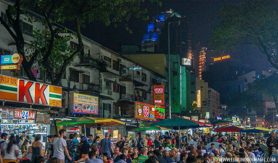 Que ver en Kuala Lumpur - Jalan Alor