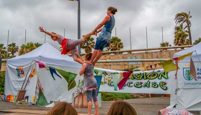 Planes en Gran Canaria con niños - Invasión Cirquense