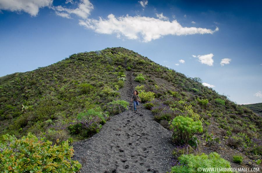 Planes en Gran Canaria con niños - Senderismo en la Caldera de Bandama