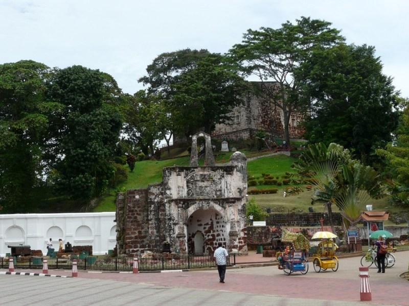 Puerta de Santiago - Melaka