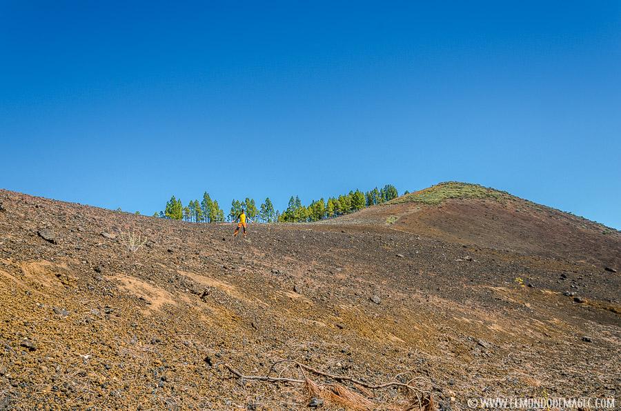 Ruta de Senderismo del Montañón Negro - Subiendo a cumbre