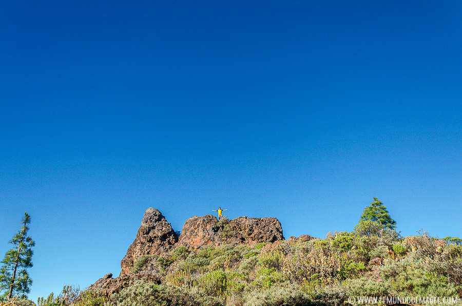 Ruta de senderismo del Montañón Nedro - Bricando entre roques