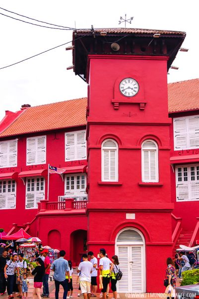 Torre en Ducth Square de Melaka