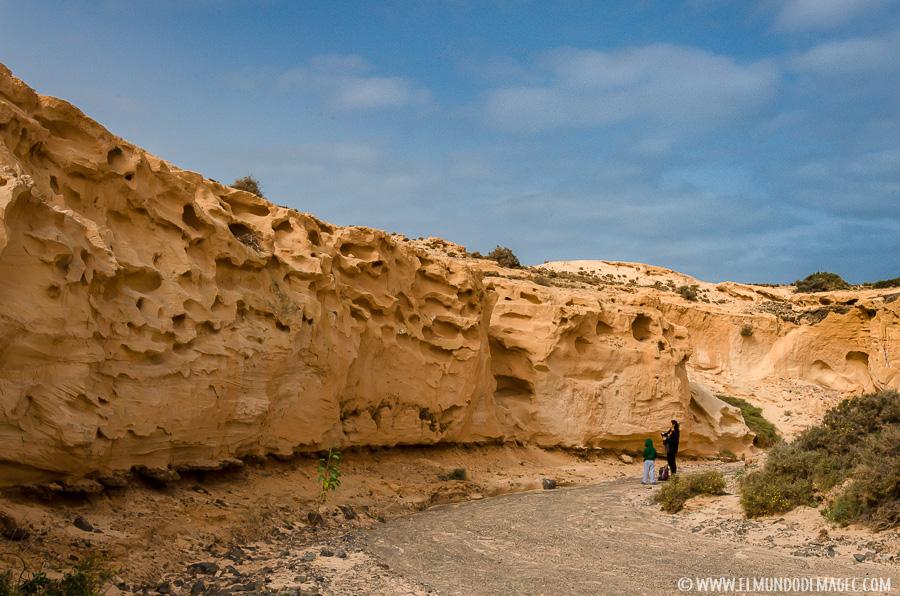 mejores playas de Fuerteventura - Barranco de los Encantados