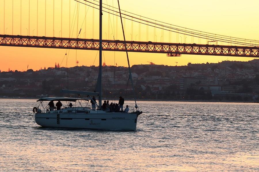 Lisboa en dos días - Atardecer en el Tajo
