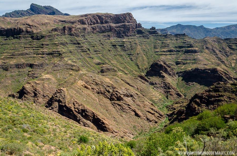 Senderismo en Gran Canaria - Barranco del Siberio