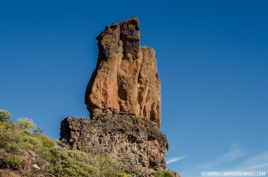 Senderismo en Gran Canaria - Roque del Cofre o Mulato