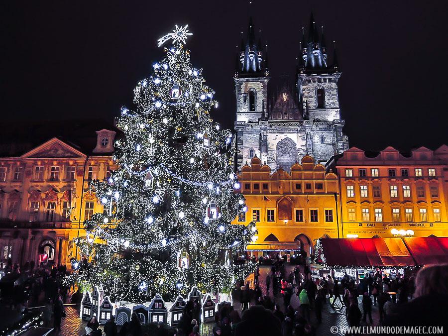Mercados navideños de Praga