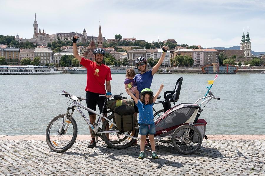 Viajes en familia en bicicleta