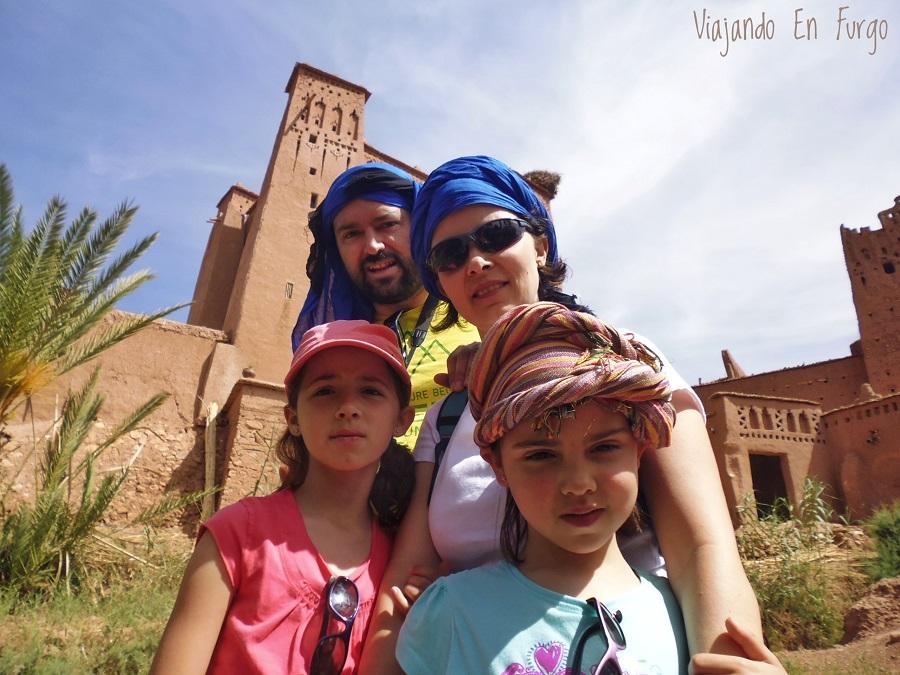 Viajando en familia y con camper por Marruecos