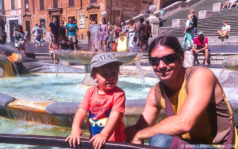 En Roma con Magec.