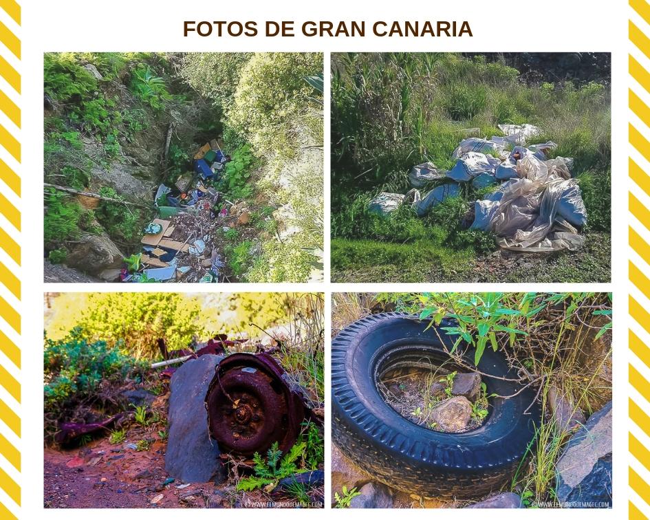 fotos de plástico en Gran Canaria