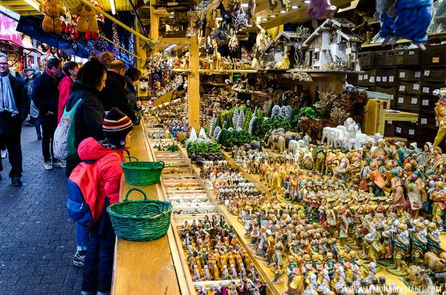 Mercado tradicional en Estrasburgo