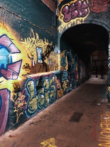 Callejón de Graffitis