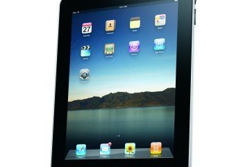 Apple iPad - Courtesy of Apple