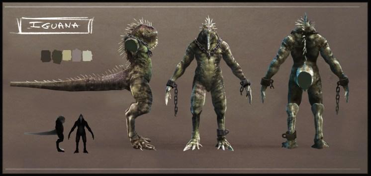 ASM Iguana Concept Model Sheet