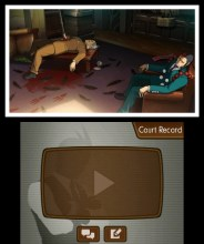"""Phoenix Wright: Ace Attorney – Dual Destinies"" [3DS] - Crime scene"