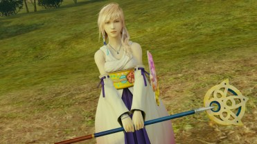 """Lightning Returns: Final Fantasy XIII"" - El atuendo ""Invocadira de Spira"" de Yuna"