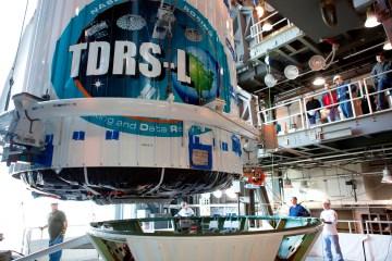 TDRS-L Mated to Atlas V