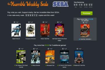 Humble Bundle / Sega