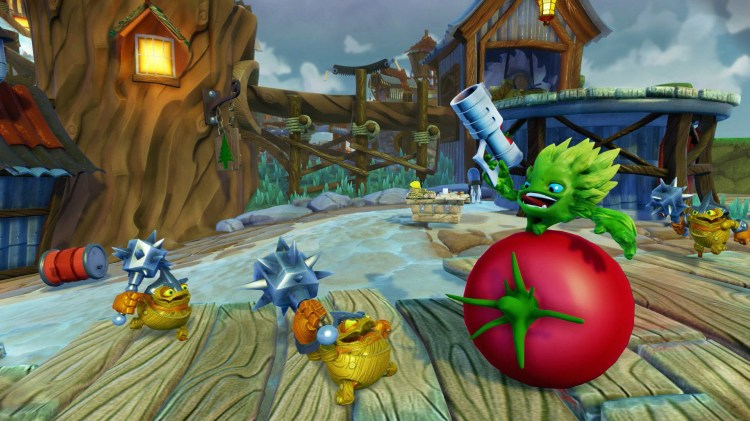 Food Fight, one of the new characters in Skylanders Trap Team