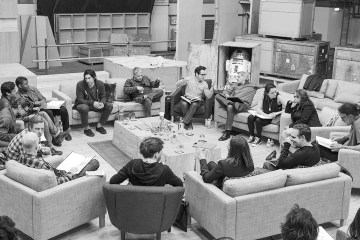 "The cast of ""Star Wars: Episode VII"""