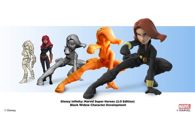 """Disney Infinity: Marvel Super Heroes"" - Black Widow - Character Development Montages"