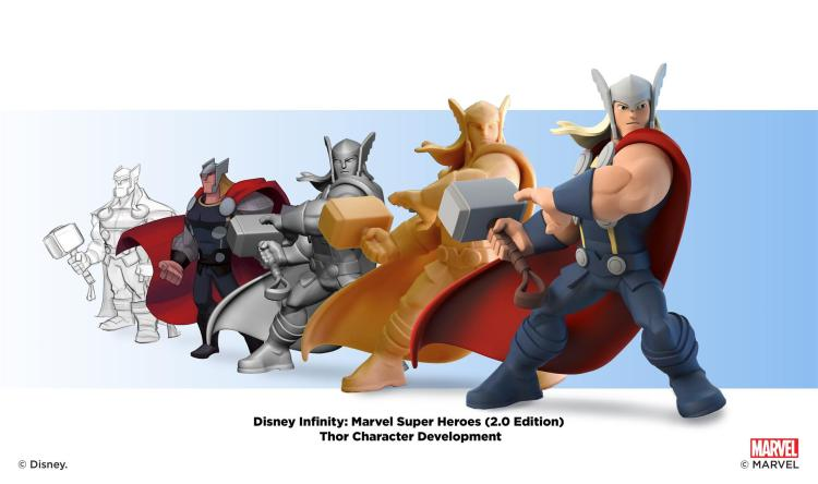 """Disney Infinity: Marvel Super Heroes"" - Thor - Character Development Montages"