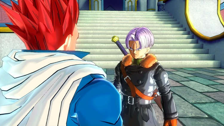 Conversation with Trunks