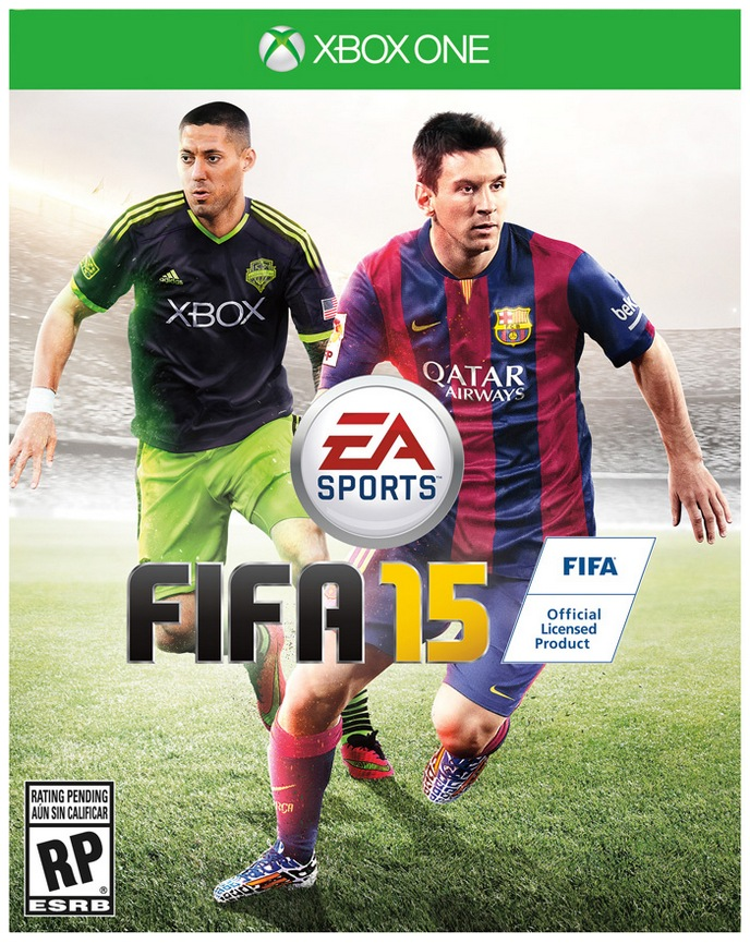 FIFA 15 - Messi / Dempsey - Xbox One - Cover