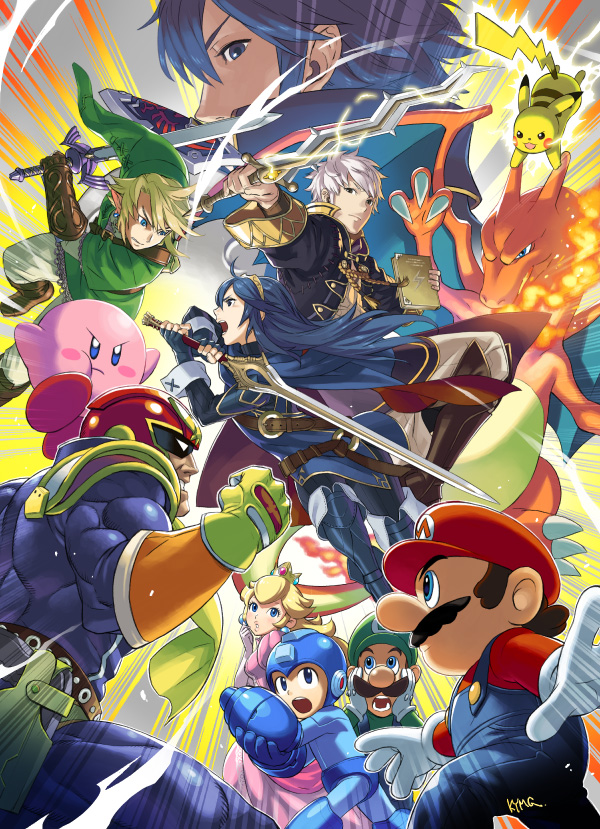 Super Smash Bros. 4: Robin, Lucina, Captain Falcon
