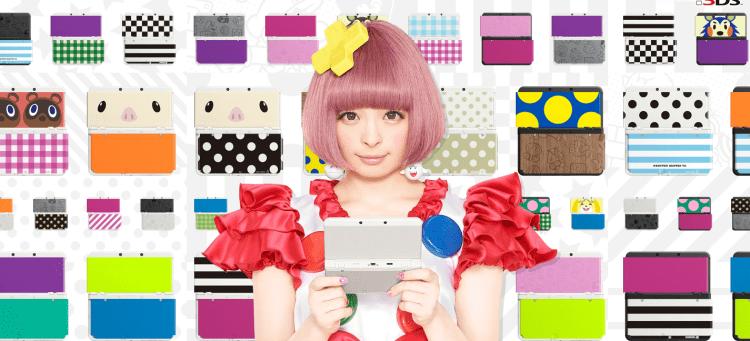 New Nintendo 3DS - Kyary Pamyu Pamyu - New Nintendo 3DS Plates