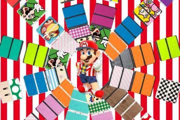 New Nintendo 3DS - Mario - New Nintendo 3DS Plates