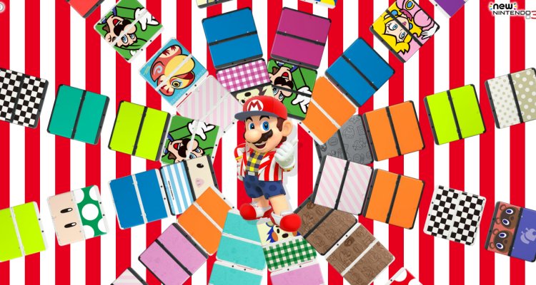 New Nintendo 3DS - Mario - Placas del New Nintendo 3DS