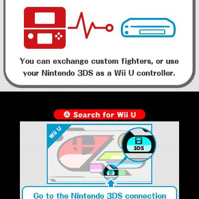 3DS as controller for Super Smash Bros for 3DS
