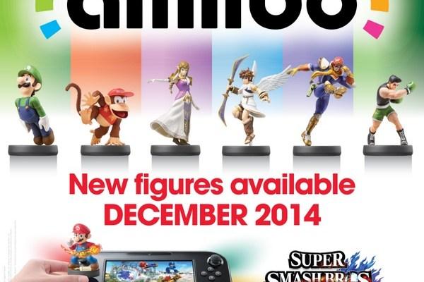 Super Smash Bros for Wii U & amiibo figures