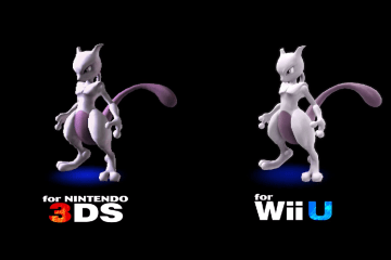 Super Smash Bros (Wii U / 3DS) - Mewtwo