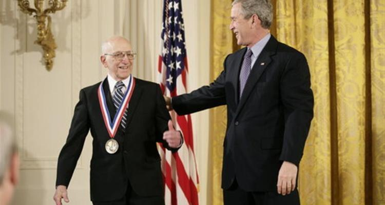 Ralph Baer & George W. Bush