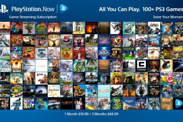 PlayStation Now: Game Streaming Subscription