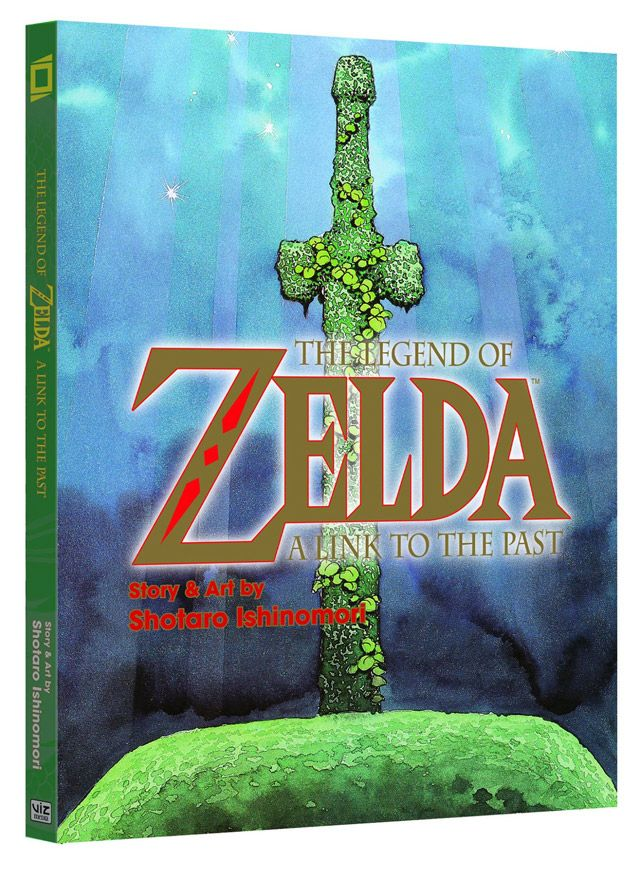 The Legend of Zelda: A Link to the Past / Cómic por Shotaro Ishinomori