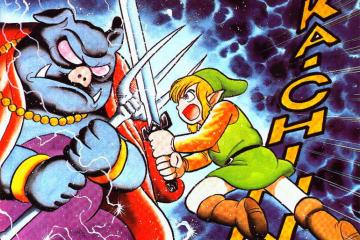 The Legend of Zelda: A Link to the Past / Comic by Shotaro Ishinomori