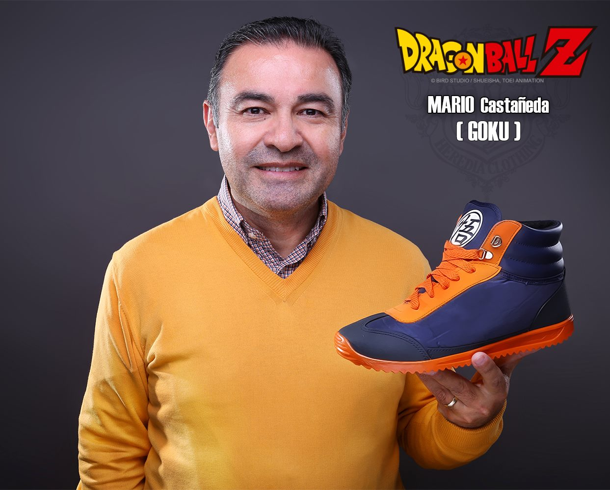 ... Heredia Clothing  Dragon Ball Z Sneakers - Mario Castañeda 61faa690d