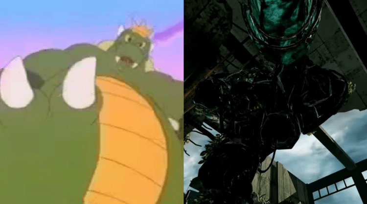 Koopzilla (The Super Mario Bros. Super Show!) & Golem (Killer Instinct Season 2)