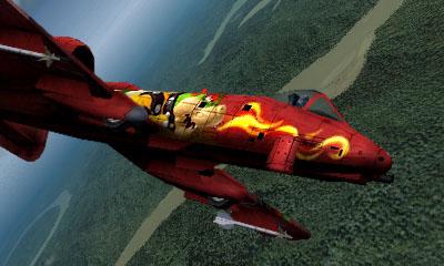 Ace Combat Assault Horizon Legacy+ / A10-A Aircraft  - Bowser